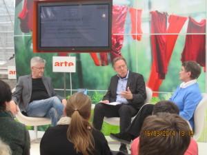 Buchmesse Frankfurt 2012, ARTE-Stand